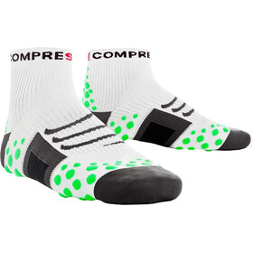 Compressport ProRacing Run High Socks White/Green